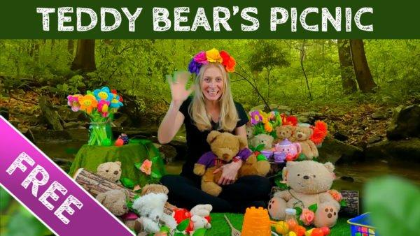 Baby Explorers Online Video - Teddy Bear's Picnic