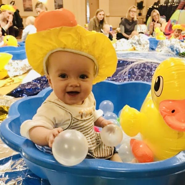 Join our Baby Explorers classes